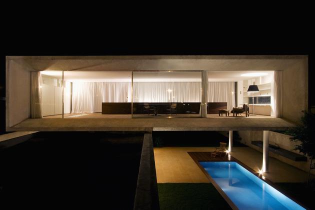 Minimalist house plans floor plans - The Osler House Por Marcio Kogan Just Plog It